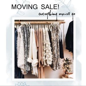 MOVING SALE! Everything Must Go :)